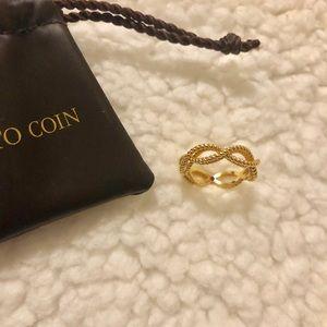 Roberto Coin 18k yellow gold ring 6.75